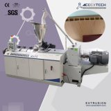 WPC Belüftung-hölzerne breite Tür-Vorstand-Produktions-Plastikmaschine