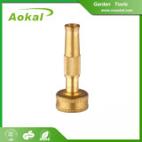 庭のための高圧ホースのノズルの井戸水の庭の真鍮のノズル
