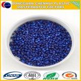 PE/PP голубое Masterbatch с пигментом популярным модельным голубым Mastebatch 40% голубым
