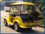 2つのシートの電気標準的なゴルフカート型のカート
