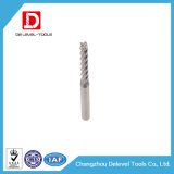 Flautas contínuas Endmills do carboneto 2/3 para o alumínio