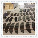 Lastra nera indiana cinese del marmo del granito per le mattonelle ed il controsoffitto