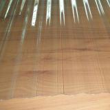 Folha ondulada do policarbonato