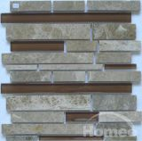 Tuiles de mosaïque en verre et de pierre de bâton (X35)