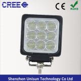 새로운 4inch 12V 27W 크리 사람 LED 광업 일 램프
