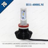 Lmusonu 7g 12V 24V LED車ライトH8/H9/H11 LEDヘッドライトキット35W 4000lm車のアクセサリ