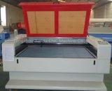 Gravure du bois de découpage de laser de CO2 de granit de tissu