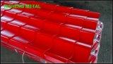Folha da telhadura de Suppling PPGI/PPGL da fábrica com tamanho 0.17-0.8mm*650-1060mm