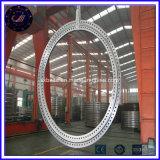 造られた鋼鉄風発電機のフランジの大きい風タワーのフランジ