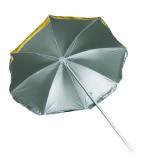 ビーチパラソルへの銀製のコーティング、日傘(SY1803-T)が付いている170tナイロン