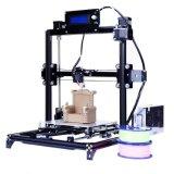 Anet A2 Updrade aluminio Estructura 3D de la impresora DIY kit de impresora Prusa I3 3D con cama caliente + + 1roll 10m tarjeta SD de 8 GB + Filamento de la pantalla LCD
