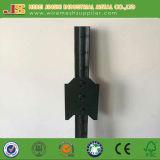 Le type en acier en métal et la pression soumise à un traitement thermique ont traité le type en bois poste de T fabriqué en Chine