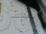 Almofada do copo de papel de tecido da alta qualidade que faz a máquina de impressão