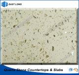 Bancadas de pedra artificiais de quartzo para a cozinha com relatório do GV & certificado do Ce (únicas cores)