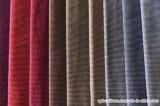 Tissu court de velours de polyester de coton de pile pour le capitonnage