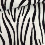 Zebra-Streifen, die PU-Leder für Dame-Schuhe sich scharen