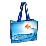 Fördernde Woven Einkaufstasche mit Customer Logo Printing (BG -016)