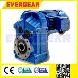 Motor montado eje del engranaje axial del paralelo del reductor del engranaje de la serie de F
