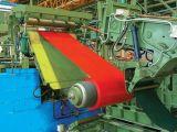 Лист PPGI строительного материала Suppling фабрики стальной настилая крышу стальной лист