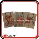 カスタムプリント高品質のペーパーショッピングギフト袋