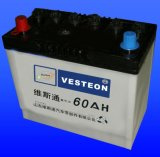 비용이 부과된 납축 전지 N60 12V60ah를 말리십시오