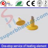 lámpara de cerámica del calentador del infrarrojo lejano de 220V 125W para el diámetro 75 de los animales domésticos y de los animales 75*100