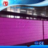 밝은 Bis P10 호박색 분홍색 희소한 소수 민족은 발광 다이오드 표시 옥외 모듈을 착색한다