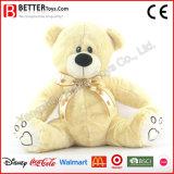 Urso macio do luxuoso do animal enchido do urso da peluche para miúdos do bebê