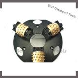 плита роторного диаманта карбида вольфрама 200mm меля, инструмент ролика плиты молотка Bush