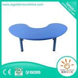 Mobília do jardim de infância da tabela do plástico da forma da lua