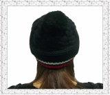 顧客用スパンデックス(1-3512)が付いているジャカードによって編まれる帽子の帽子