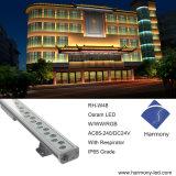 建物の正面の装飾的なThim LEDの壁の洗濯機の照明