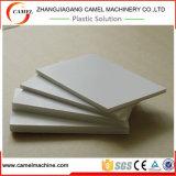 Línea impermeable de la protuberancia de la tarjeta de la espuma de la corteza del PVC con el tornillo doble