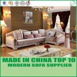Tela casera moderna L sofá Y1501 de los muebles de la dimensión de una variable