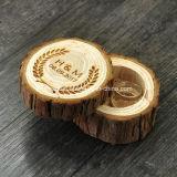 عالة ينقش علامة تجاريّة [جفت بوإكس] طبيعيّة خشبيّ لأنّ حل