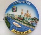 Placa de turismo ruso con un buen embalaje