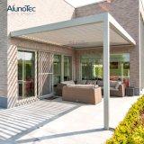 Lâminas de telhado exterior para janelas ajustáveis Pergola