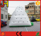 Iceberg que sube inflable, iceberg inflable para los juegos del agua, iceberg inflable