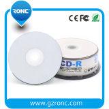 CD en blanco brillante termal de plata profesional - 100 paquetes