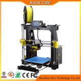 Raiscube 새로운 디자인 급속한 시제품 2 바탕 화면 DIY Fdm 3D 인쇄 기계