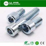 電流を通された亜鉛によってめっきされる十六進ソケットヘッド小ネジ(DIN912)