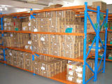 Cremalheira industrial do Shelving do metal do armazenamento do GV