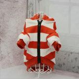 Le rouge mignon élimine la chemise de crabot de Hoodie de crabot d'animal familier