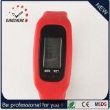 Vigilanza del pedometro dell'orologio di sport delle vigilanze della cinghia del silicone (DC-001)