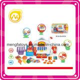 Het grappige Stuk speelgoed van de Machine van het Contante geld van het Kind van het Speelgoed van het Kasregister van de Supermarkt