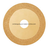 Den Kreis Diamanten schärfen Sägeblatt für Marmorausschnitt