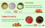 アフリカのイタリアの缶詰にされたトマトのための70gトマトのりのトマトのり