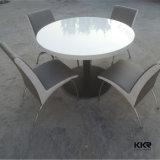 Tavola rotonda del ristorante di pietra artificiale della mobilia dell'hotel