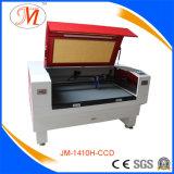 De Machine van Cutting&Engraving van de Laser van Co2 met het Rode Lichaam van de Machine (JM-1410h-CCD)