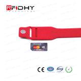 Wristband supremo del estilo de la tarjeta de la pieza inserta de la calidad para la gerencia elegante del equipo